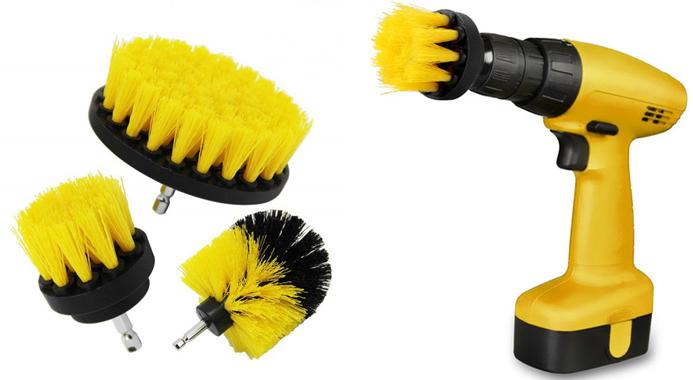 Smart børstesæt til boremaskinen til nem og sjov rengøring
